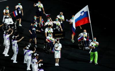 Paralimpijske igre v Tokiu so se začele