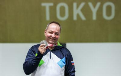 Tiršek v Tokiu osvojil srebrno medaljo